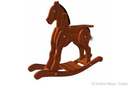 In Holzspielzeug wie diesem befinden sich oft bedenkliche Schadstoffe.