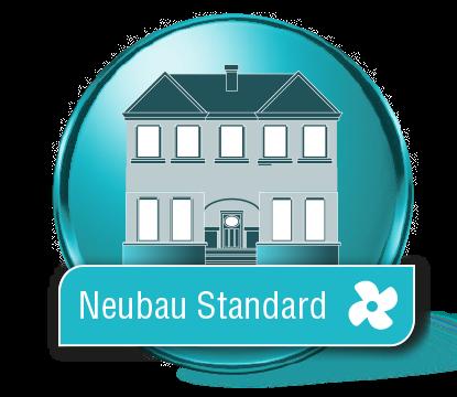 Neubau Raumlufttest Standard