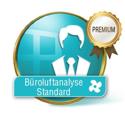 Büroluftanalyse Standard Premium