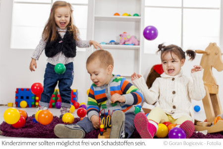 Schadstoffe stecken häufig in Spielzeug.