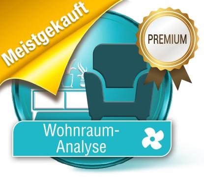 Luft Analyse Wohnraum Premium