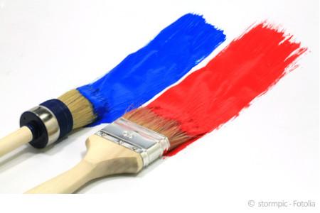 Schwermetalle sind häufig problematische Schadstoffe in Wandfarben.