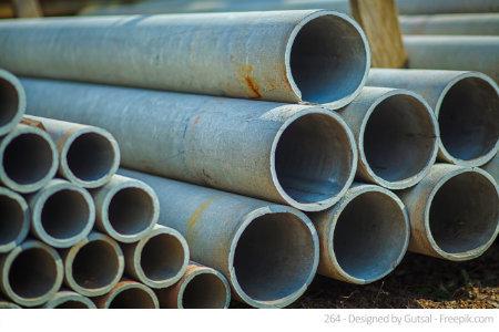 Asbest versteckt sich in zahlreichen Baustoffen wie diesen. Deshalb ist ein Asbest Test sinnvoll.