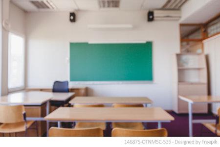 Ein gewöhnliches Klassenzimmer: Leider sind hier Schadstoffe keine Seltenheit.