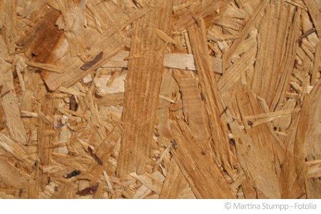 In Spanplatten befindet sich oft schädliches Formaldehyd.